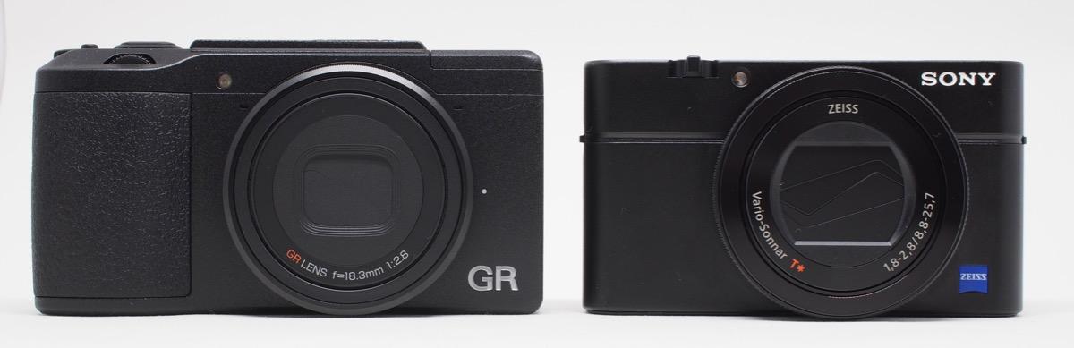 GR II vs RX100M4