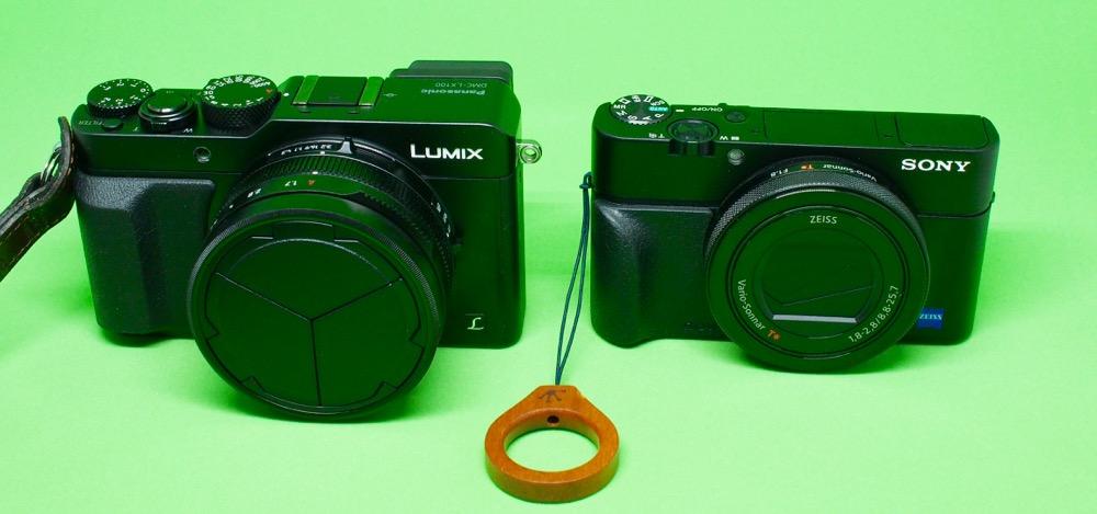 LX100 vs RX100M4
