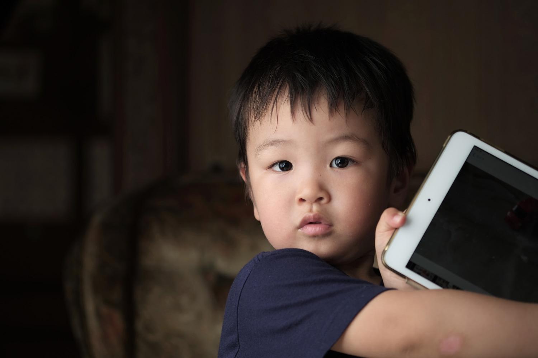 X-T2で撮影した息子