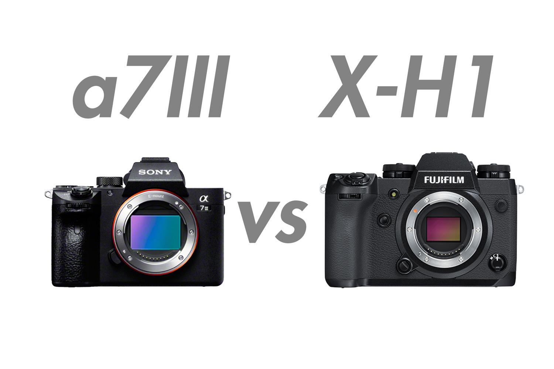 α7III vs X-H1